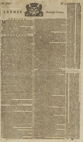 Leydse Courant 1754-02-04