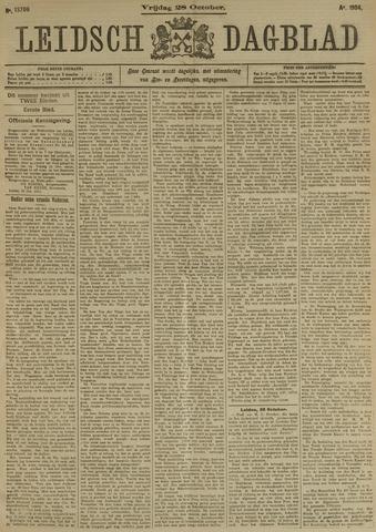 Leidsch Dagblad 1904-10-28