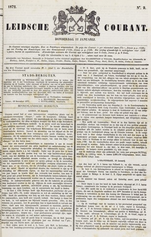 Leydse Courant 1872-01-11