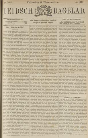 Leidsch Dagblad 1885-11-03