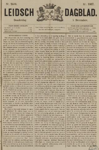 Leidsch Dagblad 1867-12-05