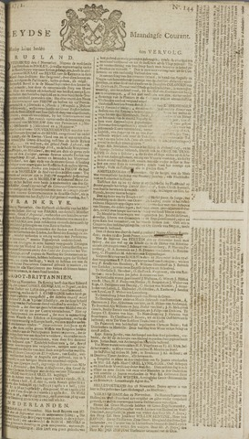 Leydse Courant 1772-11-30