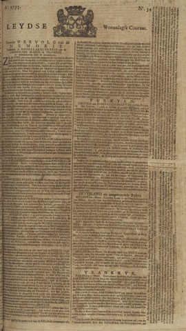 Leydse Courant 1755-03-19