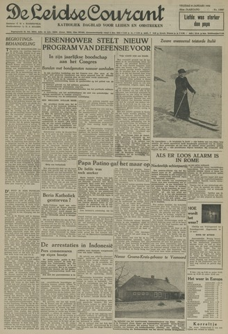 Leidse Courant 1954-01-08