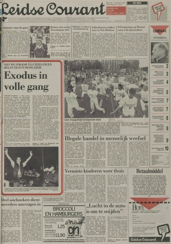 Leidse Courant 1989-09-11