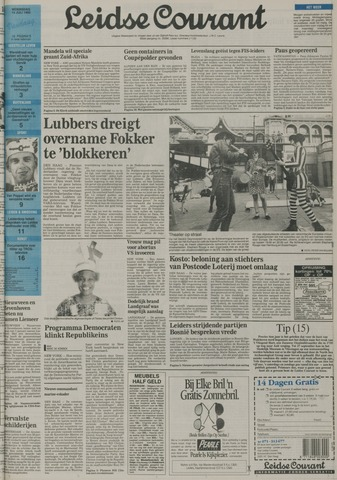 Leidse Courant 1992-07-15