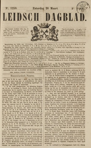 Leidsch Dagblad 1864-03-26