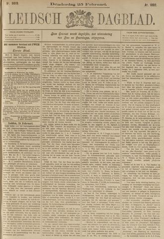 Leidsch Dagblad 1892-02-25