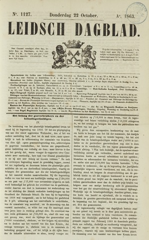 Leidsch Dagblad 1863-10-22