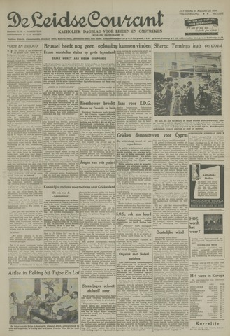 Leidse Courant 1954-08-21