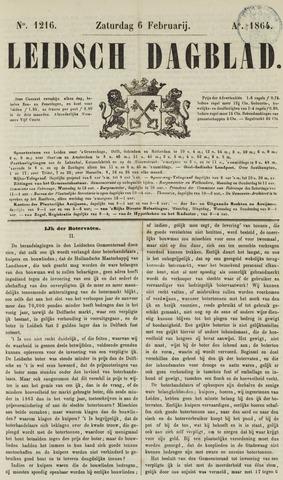 Leidsch Dagblad 1864-02-06