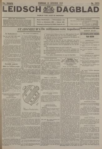 Leidsch Dagblad 1937-09-22