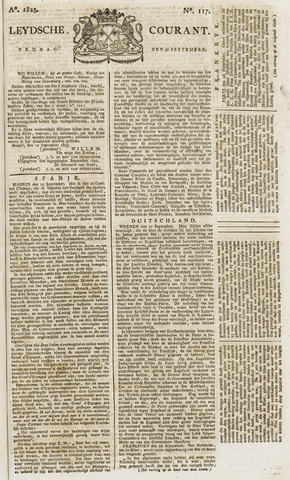 Leydse Courant 1825-09-30