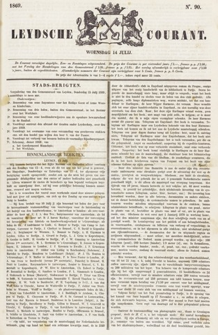 Leydse Courant 1869-07-14