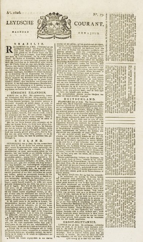 Leydse Courant 1826-07-03