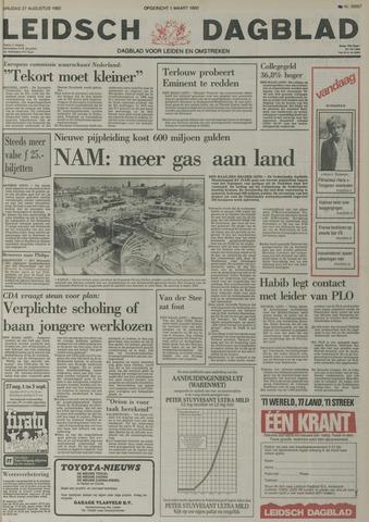 Leidsch Dagblad 1982-08-27