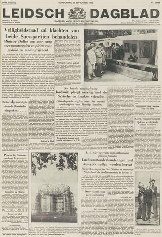Leidsch Dagblad 1956-09-27