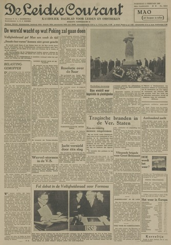 Leidse Courant 1955-02-02