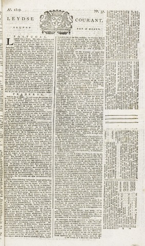 Leydse Courant 1819-03-26