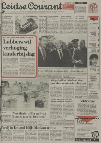 Leidse Courant 1989-08-29