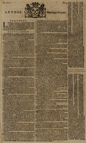 Leydse Courant 1777-01-20