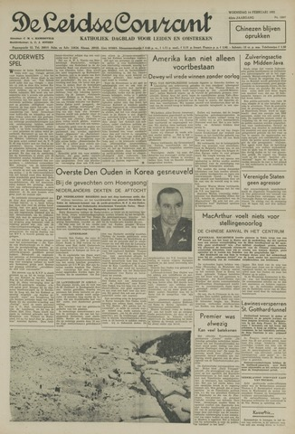 Leidse Courant 1951-02-14