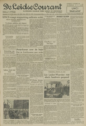 Leidse Courant 1950-10-07