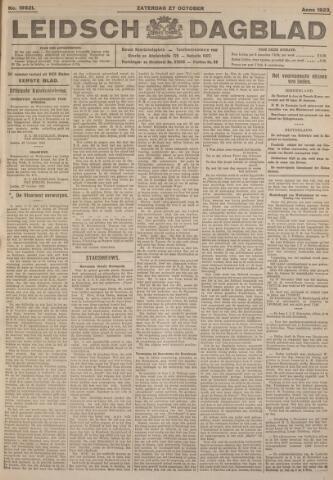 Leidsch Dagblad 1923-10-27