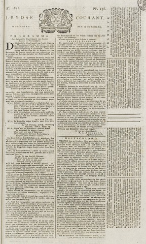 Leydse Courant 1817-11-12