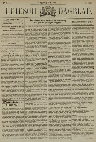 Leidsch Dagblad 1890-07-18