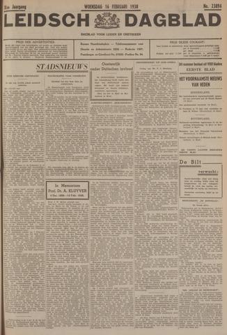 Leidsch Dagblad 1938-02-16