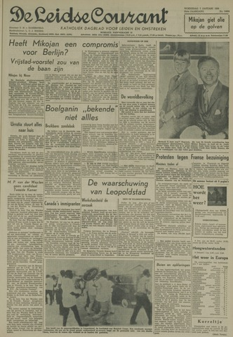 Leidse Courant 1959-01-07