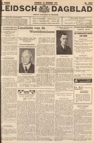 Leidsch Dagblad 1937-11-22