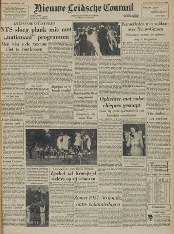 Nieuwe Leidsche Courant 1957-09-02