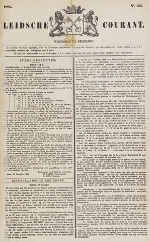 Leydse Courant 1884-12-31