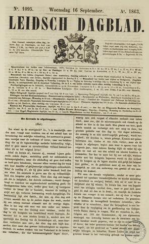 Leidsch Dagblad 1863-09-16