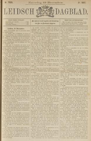 Leidsch Dagblad 1885-12-19