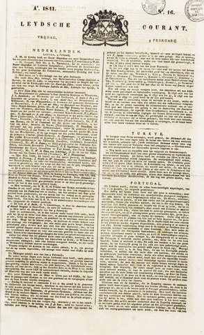 Leydse Courant 1841-02-05