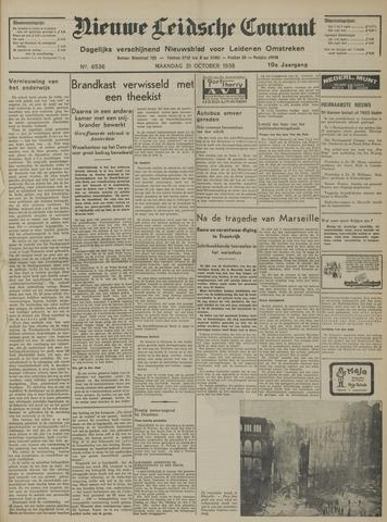 Nieuwe Leidsche Courant 1938-10-31