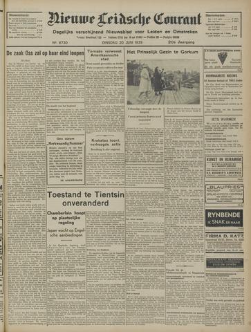 Nieuwe Leidsche Courant 1939-06-20