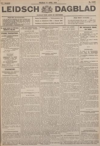 Leidsch Dagblad 1930-04-11