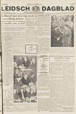Leidsch Dagblad 1954-08-20