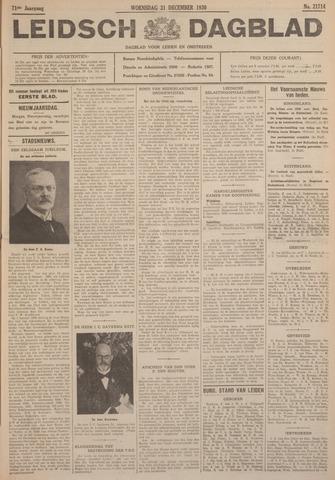 Leidsch Dagblad 1930-12-31