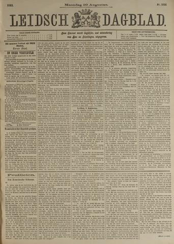 Leidsch Dagblad 1896-08-10