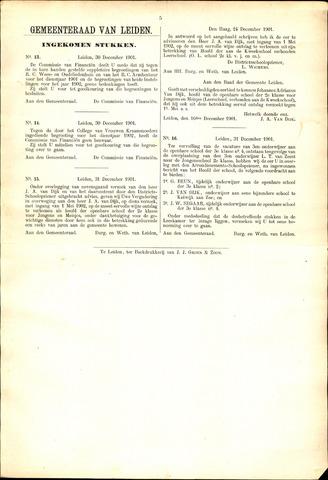 Handelingen van de Raad 1901-12-29