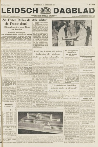 Leidsch Dagblad 1954-09-16