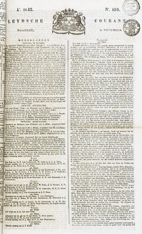 Leydse Courant 1843-11-20