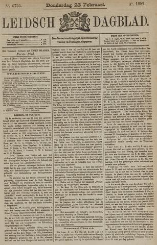 Leidsch Dagblad 1882-02-23