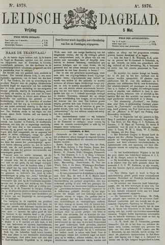 Leidsch Dagblad 1876-05-05