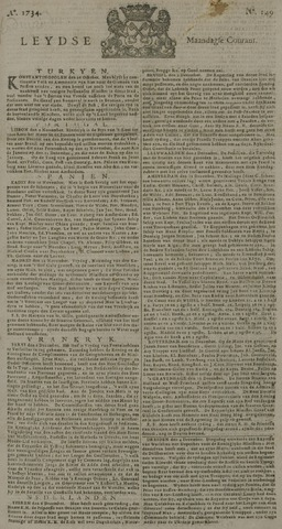 Leydse Courant 1734-12-13